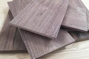 厂家直销美国黑胡桃指接板,直拼板,家具板,实木板