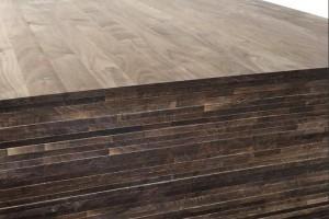 零甲醛纯实木美国黑胡桃指接板,直拼板,家具板,实木板