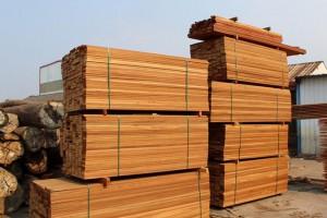 菠萝格木方,户外防腐木 实木板材 原木料 木条方 木户外木板景观栈道