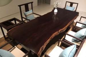 风车木大板桌