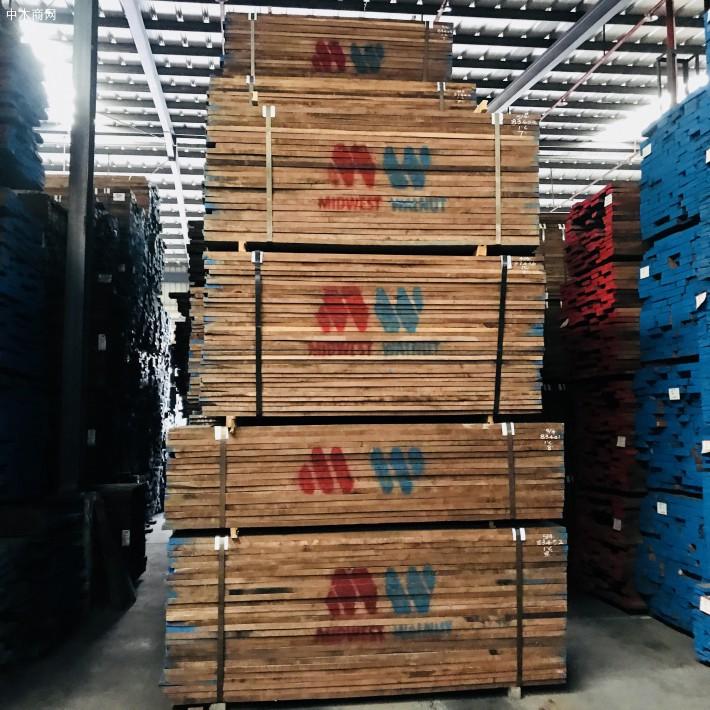 厂价直销美国黑胡桃木实木板材,北美黑胡桃木室内家装木材厂家