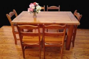 从零纯香椿木餐桌,红椿木餐桌实木家具
