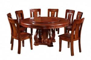 纯香椿木圆餐桌,红椿木圆餐桌实木家具