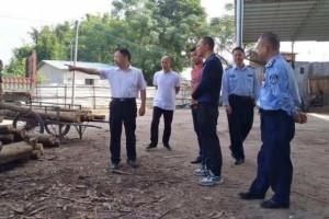 开展木材加工企业安全生产大检查,贵州茶店街道