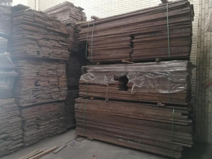 柬埔寨黑酸枝木烘干板材高清图片品牌