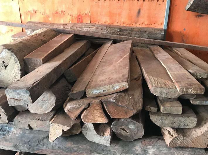 老挝大红酸枝原木大方海关拍卖价格