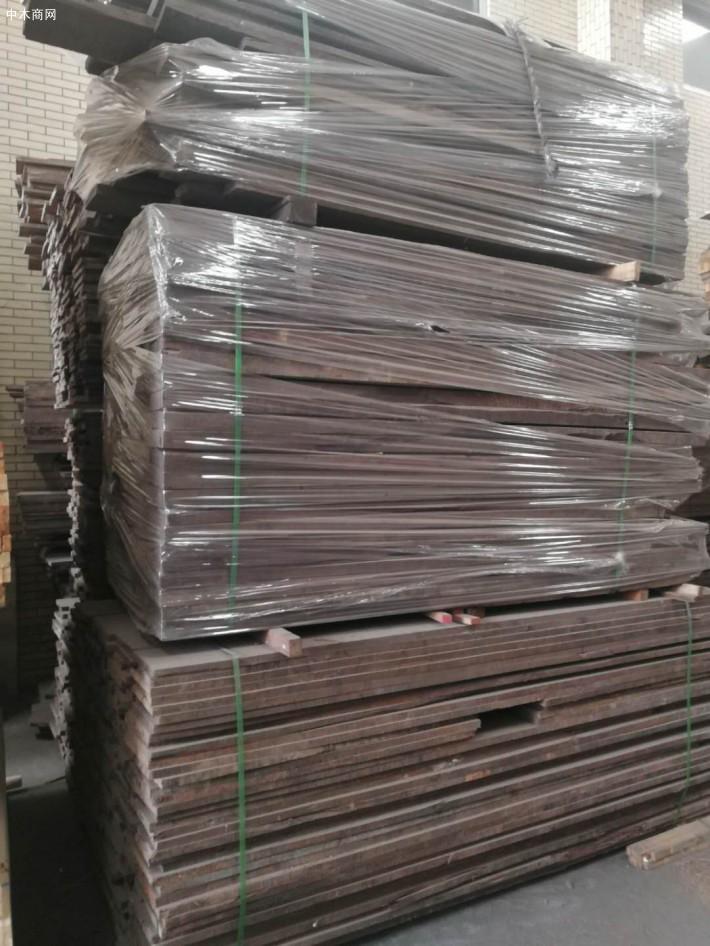 柬埔寨黑酸枝烘干板材厂家