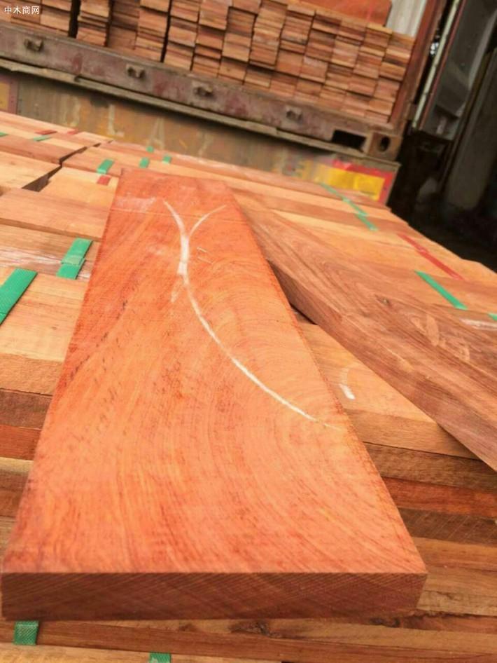红檀香地板坯料厂家批发价格图片
