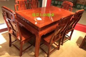 1.48缅甸花梨茶桌红木家具批发价格