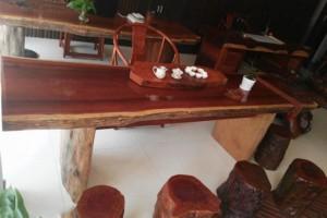 香花梨大板茶台