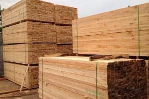 蒙古国原木板材70%依赖进口
