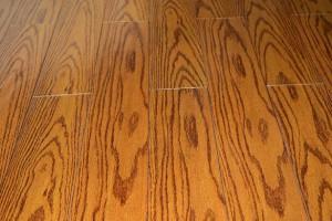 仿古红橡色木地板厂家批发