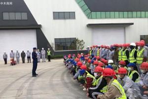河南驻马店消防走进木业企业开展消防安全培训演练活动