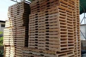 定制包装木箱机械包装物流金属扣箱免熏蒸出口木托盘厂家直销