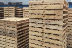 定做全新实木卡板垫木栈板仓库货架叉车板仓库地台板物流木托盘