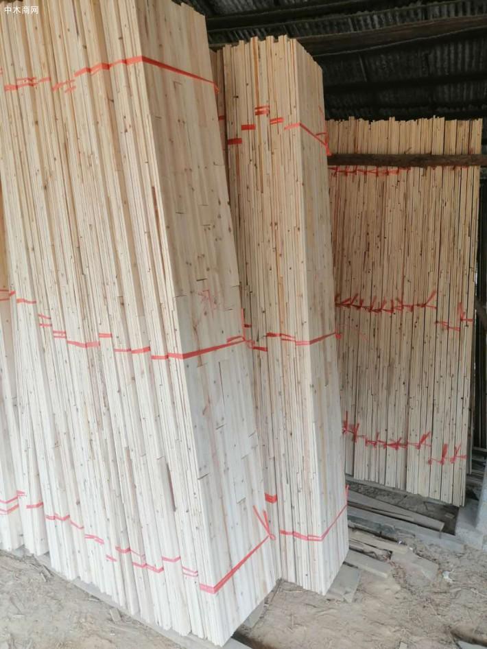 香杉木机拼板芯料价格多少钱一立方米厂家