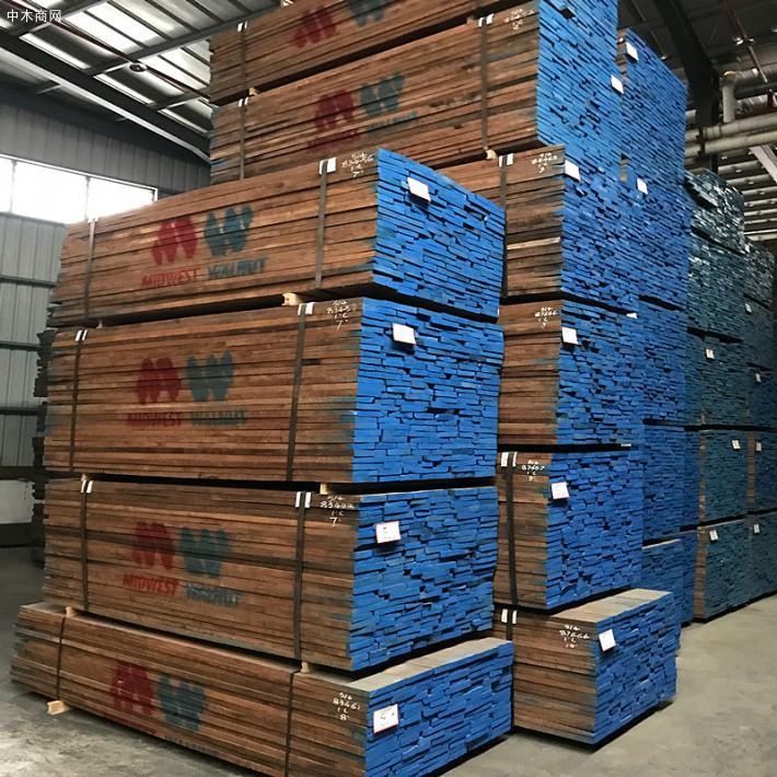 进口北美黑胡桃木板材,顶级美国黑胡桃家具板材木料厂价直销