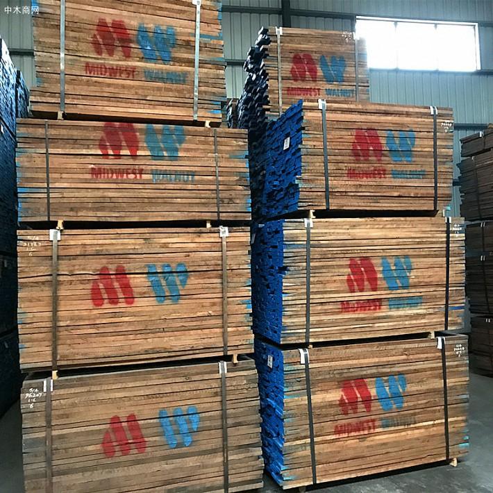 进口北美黑胡桃木板材,顶级美国黑胡桃家具板材木料厂价直销厂家