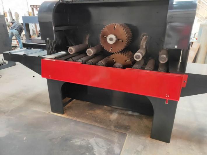 重型支点方木多片锯加工的木材