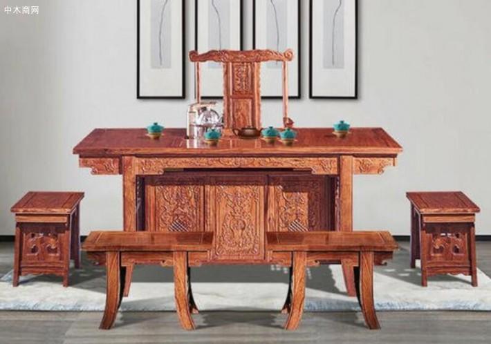刺猬紫檀家具的优点和缺点?刺猬紫檀图片家具会升值吗