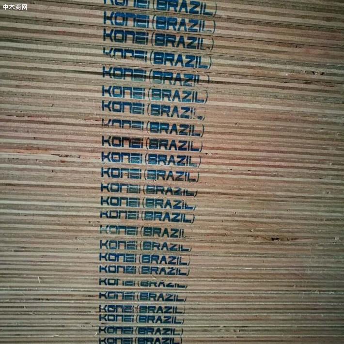 真成木业南美KONEI夹板,平整挺度够,尺寸足,适用广,经济超值厂家