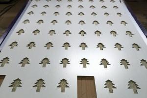 佳诚样品板激光切割雕刻助力品牌完成宏伟梦想!