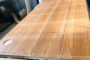 样品板雕刻_多层板9厘截切加工