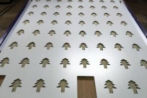 样品板材雕刻_密度板CNC切割加工