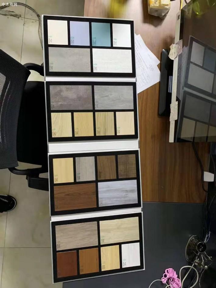 板材厂样品展示板色卡样册定做免费激光打标品牌