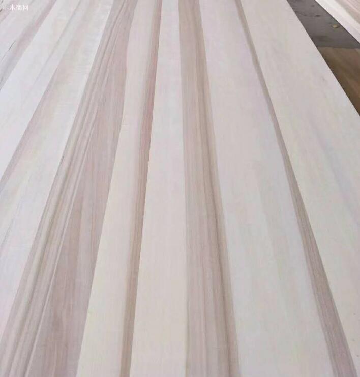 比如我们将白杨木直拼板