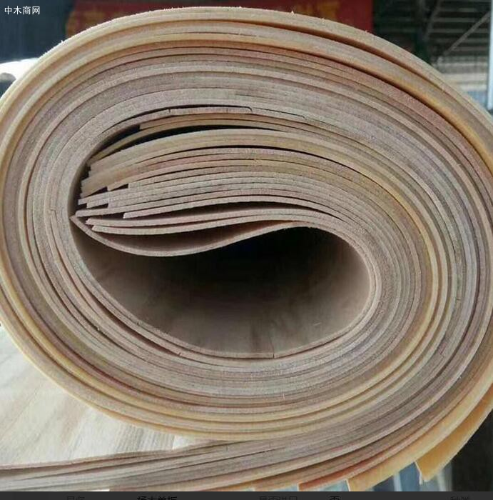 枣阳森博木业杨木单板四拼皮子实物高清图片厂家