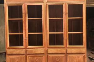 缅甸花梨木书柜怎么样识别选购?