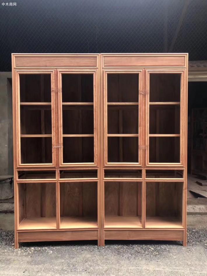 缅甸花梨木书柜怎么样识别选购价格