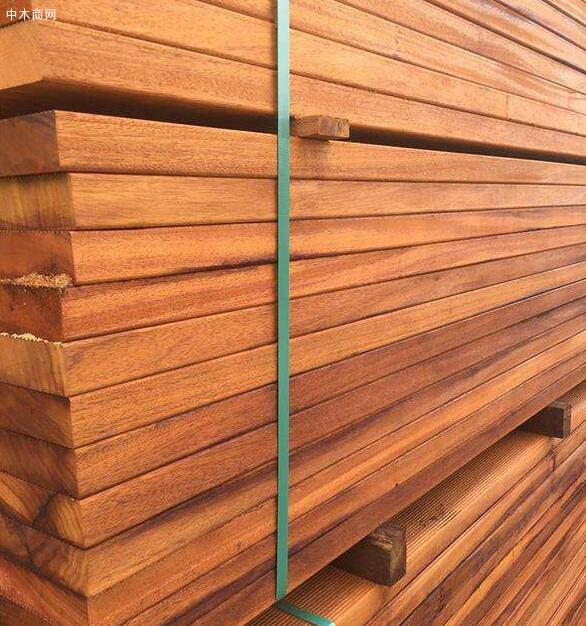 非洲菠萝格木板材,古建园林户外景观防腐木