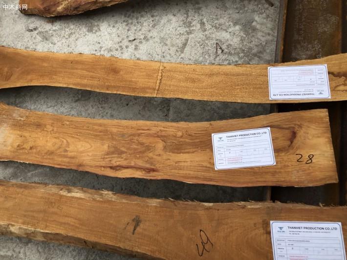越南黄花梨板材实物高清细节视频