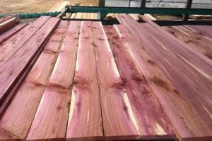 美国红心柏木方料板材原产地直销