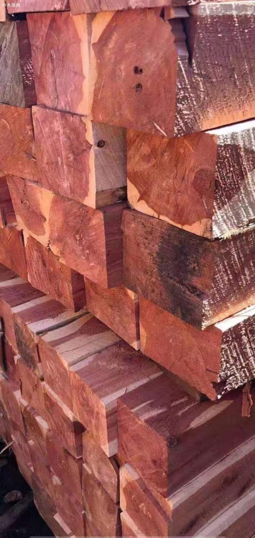 美国红心柏木方料板材原产地直销图片