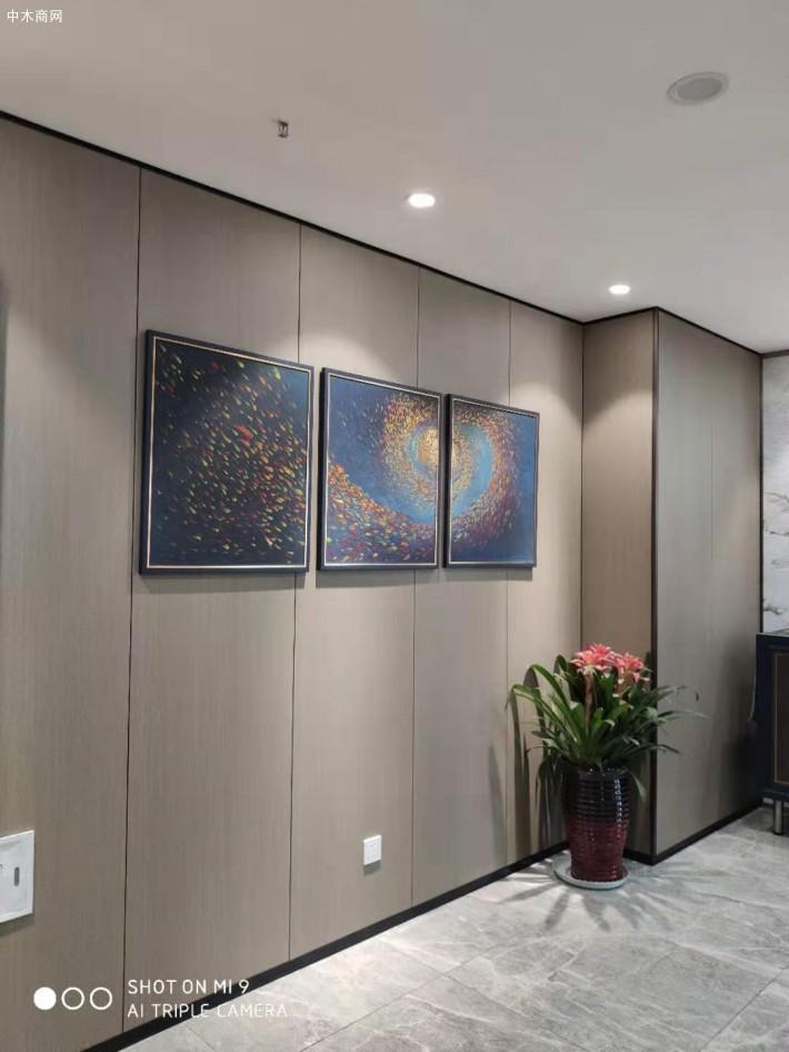 实木护墙板定制家装的高端材料