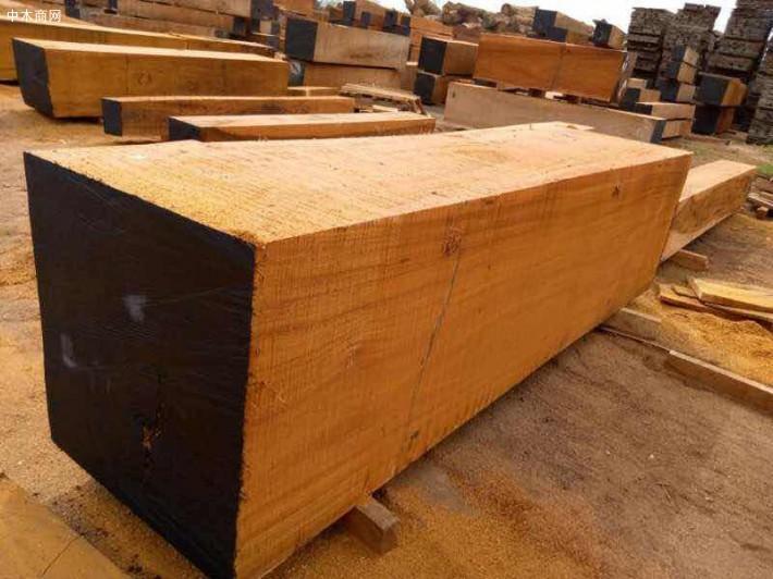 非洲奥坎大方板材料原产地直销图片