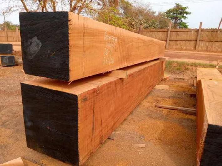 非洲奥坎大方板材料原产地直销厂家