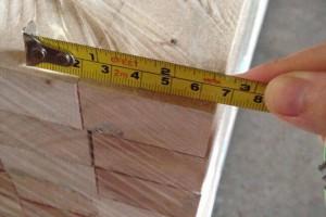 泰国进口橡胶木指接板厂家直销