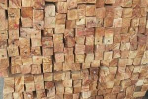 青岛翔越国际贸易泰国进口橡胶木指接板板材高清图片