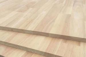 东莞创展木业泰国橡胶木指接板高清图片