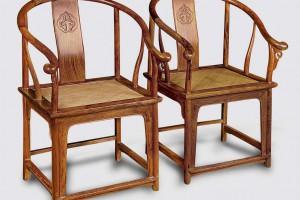 黄花梨圈椅制作结构图视频
