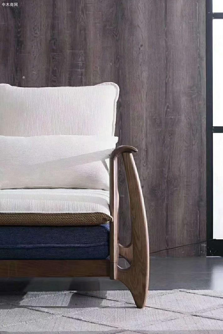 白蜡木沙发的优点北欧白蜡木实木沙发价格多少钱一套