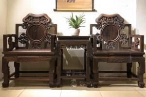老挝大红酸枝椅子价格多少钱一套?