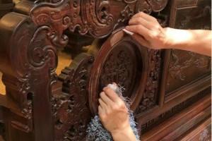 红木家具只要不被恶意破坏,根本不用特别打理保养