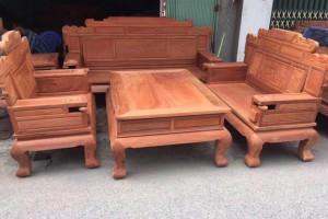 缅甸花梨木白坯沙发价格多少钱一套?