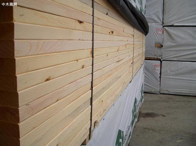 美国西部SPF供应商反馈,锯木厂的订单已进入5月份