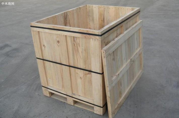 宜昌木质包装箱生产厂家批发价格供应